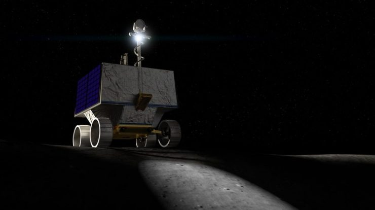 NASA new rover to search for water on the moon