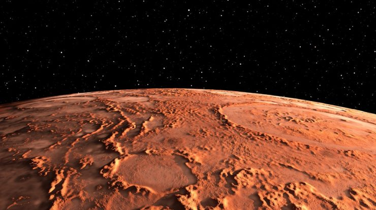 NASA Just Released A 'Treasure Map' Of Ice On Mars