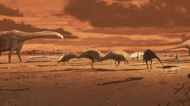 'Dinosaur stomping ground' discovered on Scottish island